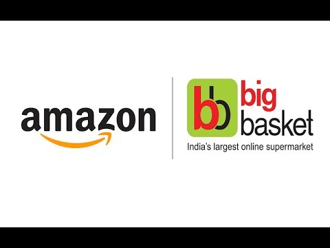 What can Amazon gain from a possible acquisition of BigBasket?