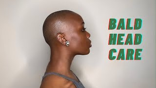 9 Products I Use for Bald Head Scalp Care and an Even Skin Tone | Mikara Reid
