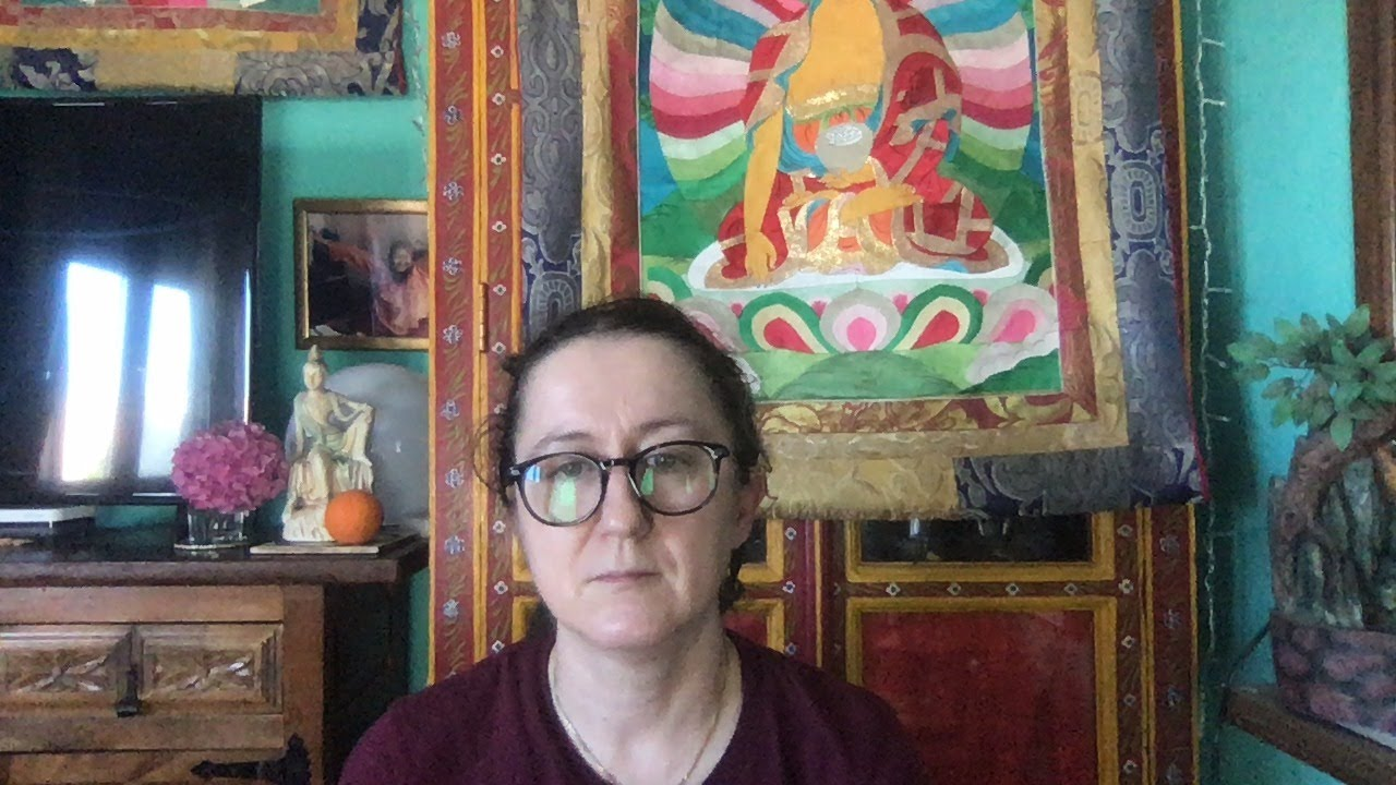 Lama Gangchen Tantric Self-Healing 2- Commentary by Lama Caroline - part 64 (EN) How to become a Buddha