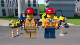LEGO® City - 60152 Zametací vůz a bagr