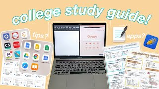HOW I STUDY IN COLLEGE: What I Use, How I Take Notes, And Tips! | Philippines