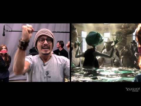 Johnny Depp Acting In Rango: A Behind the Scenes Look