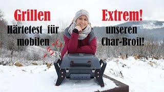 Der mobile Gasgrill von Charbroil im Wintertest