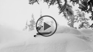 BD athlete Angel Collinson skiing in Terrace, BC