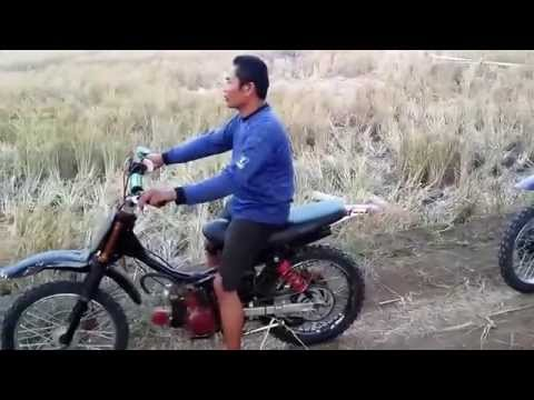 Video Trail Bebek Modifikasi