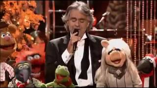 Andrea Bocelli & David Foster My Christmas Live At The Kodak Theater - Jingle Bells With The Muppets