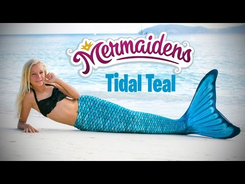 New Mermaiden Tail - Tidal Teal