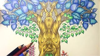 ENCHANTED FOREST COLOURING TUTORIAL
