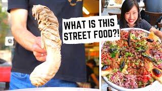 X-RATED TURKISH STREET FOOD 😂   ISTANBUL STREET FOOD   Giant kebab feast + traditional TURKISH FOOD