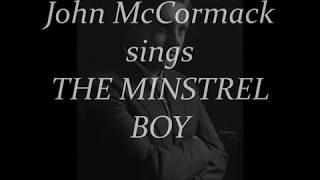 John McCormack sings THE MINSTREL BOY