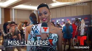 Exclusive Interview: Miss South Africa 2019, Zozibini Tunzi | Miss Universo | Telemundo