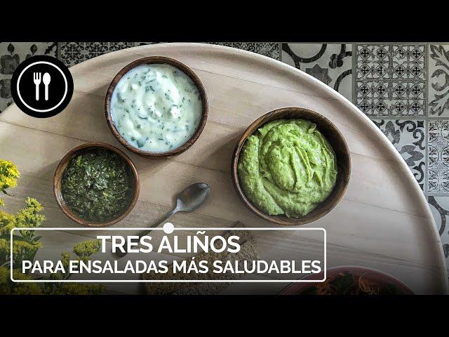 Cómo aliñar tu ensalada para que además de saludable esté impresionante