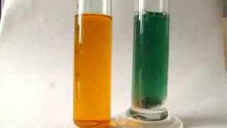 Reduction of Potassium Bichromate by zinc at acidic media