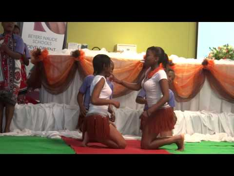 Traditional Sotho Dancers at Kagiso Trust's BNSDP Launch