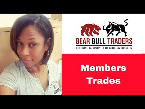 Watch Ercilia First Live Trade on $PYPL #DayTrading | Oct 19 2018