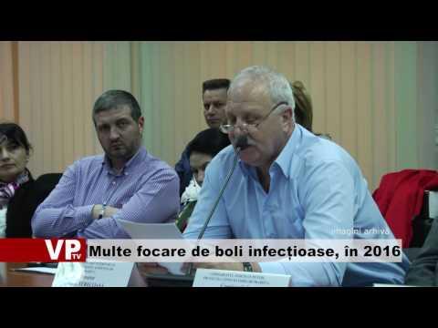 Multe focare de boli infecțioase, în 2016