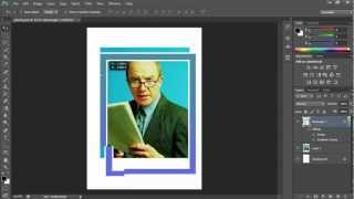 How to Bring Layer to the Front in Photoshop CS6