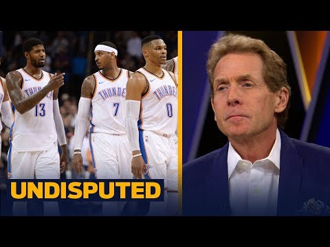 Skip Bayless on the Oklahoma City Thunder: 'These guys don't look happy to me' | UNDISPUTED