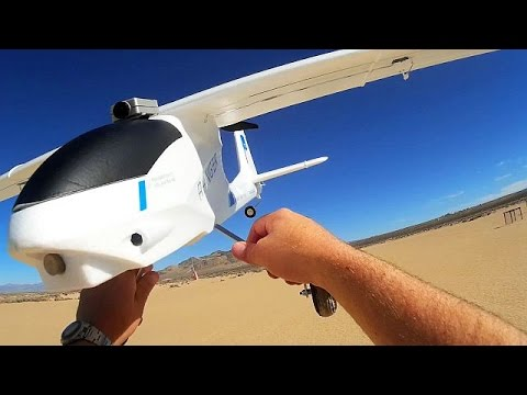Volantex Ranger BIG Airplane Drone Flight Test Review