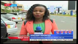 Five Kenyans among those deported by Trump government