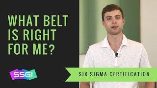 What Six Sigma Belt Should I Get?