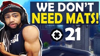 21 KILLS - WE DON'T NEED MATS | DAEQUAN BUFF? | HIGH KILL FUNNY GAME-(Fortnite Battle Royale)