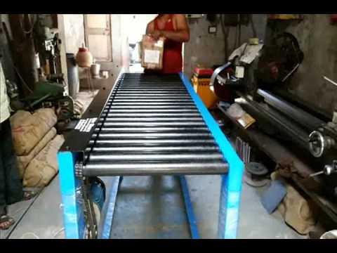 Chain Roller Conveyor System