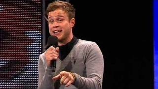 The X Factor 2009 - Olly Murs - Auditions 4 (itv.com/xfactor)