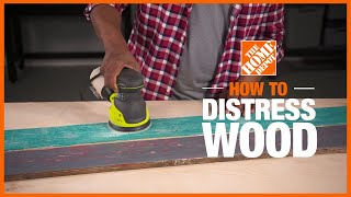 3 Ways To Distress Wood | Distressing Wood For A Weathered Look