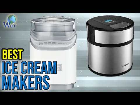 , iSiLER 1.5 Quart Ice Cream Machine With LCD Timer