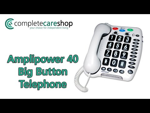 Easy To Use Telephone With Oversized Buttons
