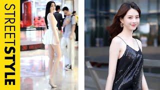 03 Nữ thần khiến bạn không thể rời mắt 👁️👁️🗨️ Thời trang đường phố Trung Quốc #5