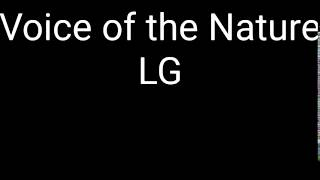 Voice of the Nature - LG