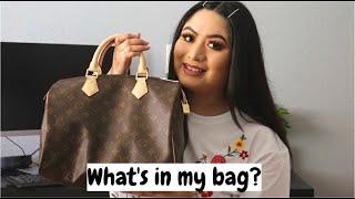 WHATS IN MY BAG? | LOUIS VUITTON SPEEDY 30