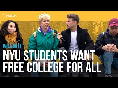NYU Students Want Free College For All
