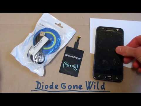 Wireless Qi Charger (sets your phone on fire)