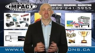 preview picture of video 'Printer Thorold Ontario | Impact Promotions | Voted Best Printer and Promotion Services in Thorold'
