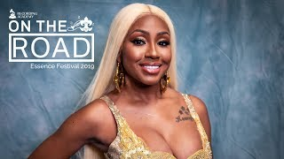 City Girls' Yung Miami Talks Writing With JT, Working With Cardi B & More At ESSENCE Fest