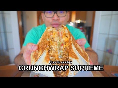 How to cook a CRUNCHWRAP SUPREME | Copycat recipe