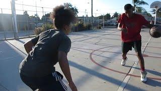 США   Лос-Анджелес   Баскетбол в американском гетто    Влог 46