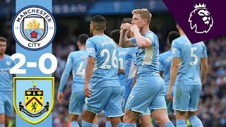 Manchester City 2-0 Burnley Pekan 8