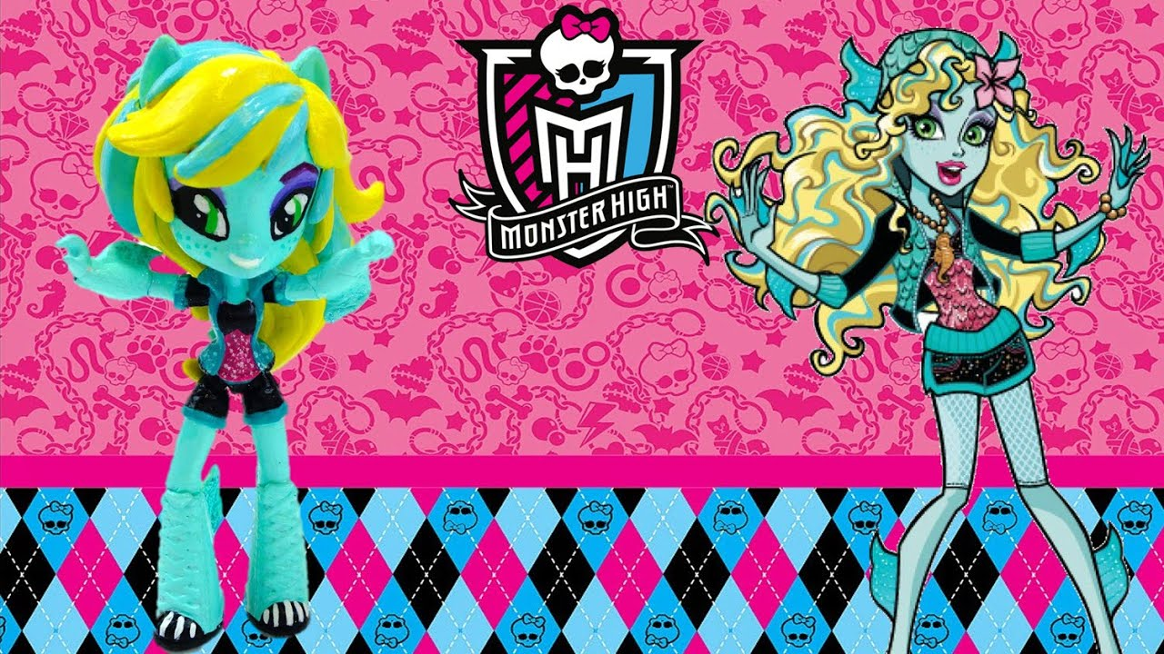 New Custom Monster High Laguna Blue Doll From My Little Pony Equestria Girl Tutorial