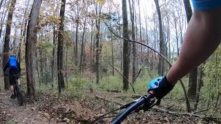 Biking Bad at Difficult Run Trail