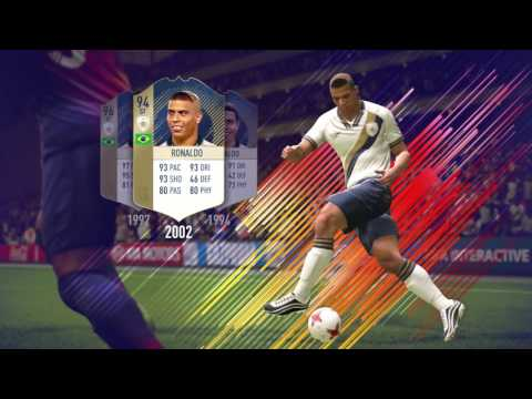 FIFA 18 - Ultimate Team  Icônes FUT et histoires avec Ronaldinhoa de FIFA 18
