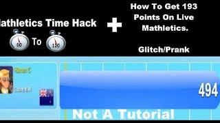 Mathletics Time Hack + How To Get 193 Points On Live Mathletics