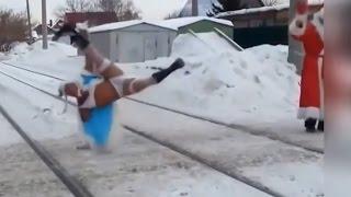 НОВОГОДНИЕ ПРИКОЛЫ И НЕУДАЧИ 2017!!! Видео Подборка Приколов!