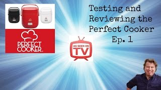 Perfect Cooker Test and Review Episode 1