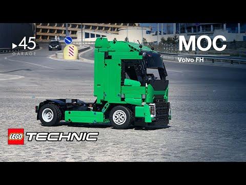 Тягач Volvo FH – самоделка из ЛЕГО техник