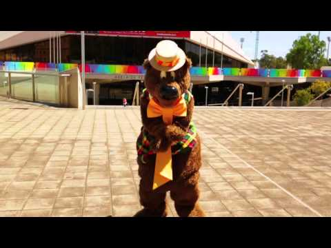 Yep, That's Enough. Humphrey B Bear Gets Involved In Gangnam Style