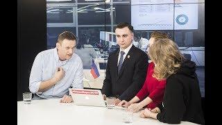 Собчак пришла на эфир к Навальному в день выборов с предложением